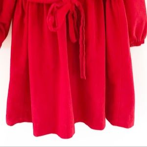 fried Knits Dresses - 100% cotton Fried Knit Creations Holiday Red Dress